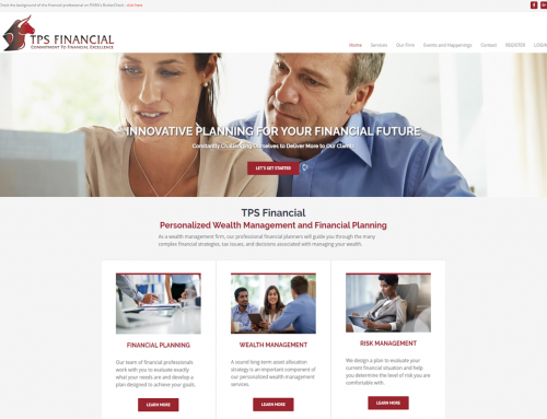 TPS Financial Launches New Website